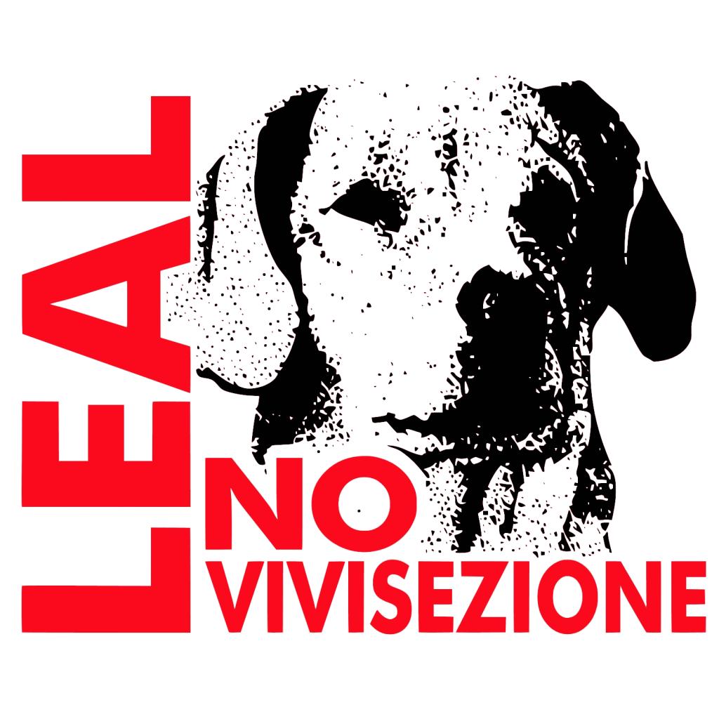 logo leal animalismo e antivivisezione